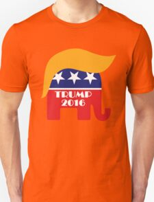 Trump 2016 GOP Elephant Hair ©TrumpCentral.org T-Shirt