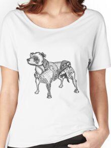 Staffie #2 Women's Relaxed Fit T-Shirt