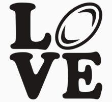 Rugby love Kids Tee