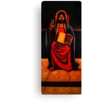 Christ Enthroned Canvas Print