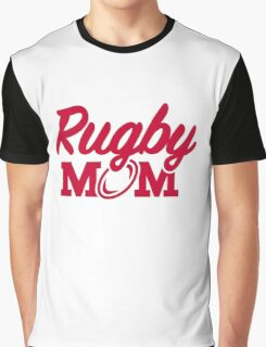 Rugby mom Graphic T-Shirt