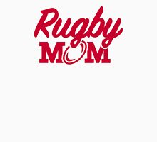Rugby mom Womens Fitted T-Shirt