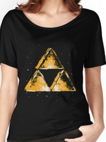 Triforce in Space  Women's Relaxed Fit T-Shirt