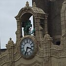 Classic Clock, Classic Architecture, Loews Jersey Theater, Journal Square, Jersey City, New Jersey by lenspiro