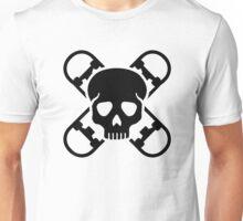 Skateboard skull Unisex T-Shirt