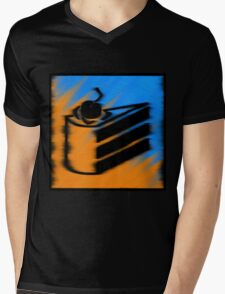 Orange and Blueberry Cake Mens V-Neck T-Shirt