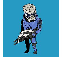 Mini Garrus Vakarian  Photographic Print
