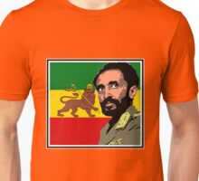 Haile Selassie-Lion of Judah Unisex T-Shirt