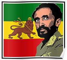 Haile Selassie-Lion of Judah Poster