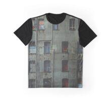 Decrepit Building, Seattle Graphic T-Shirt