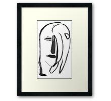 Heart Girl Framed Print