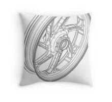 Rim Shot Throw Pillow