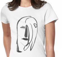 Heart Girl Womens Fitted T-Shirt