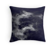 Bone Dragon Throw Pillow