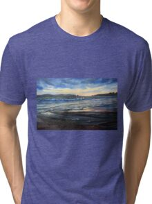 Dusk North Beach Tenby Tri-blend T-Shirt