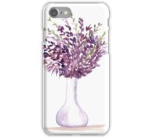 Purple flowers Mother's day iPhone Case/Skin