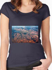 Leaving Utah II Women's Fitted Scoop T-Shirt