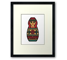 Russian Doll Framed Print