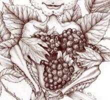 Spirits of Nature: Sir Rubus Blackberry Sticker
