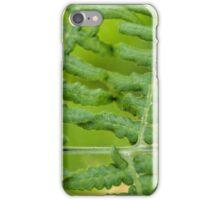 Lady Bug on Fern iPhone Case/Skin