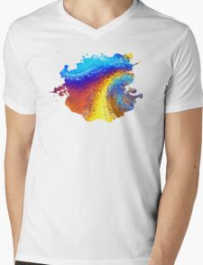 The Elements are Alive Mens V-Neck T-Shirt