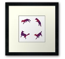 Wolves gang Framed Print