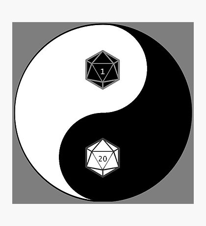 CJEJ Games Logo Photographic Print