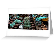 Boatloads of Color Greeting Card