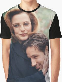 dana scully x files fox mulder Graphic T-Shirt