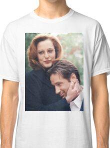 dana scully x files fox mulder Classic T-Shirt