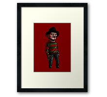 1, 2, Freddy's coming for you... Framed Print