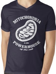 Mitochrondia - you know, it really IS the powerhouse of the cell! Mens V-Neck T-Shirt