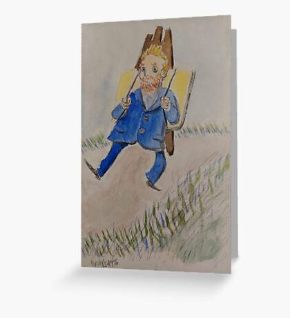 Vincent Van Gogh Greeting Card