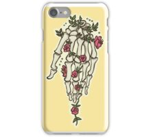 Flowery hand iPhone Case/Skin
