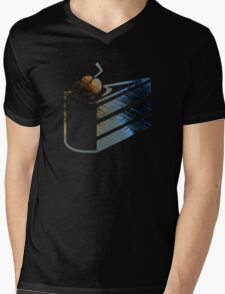 Portal Cake Mens V-Neck T-Shirt