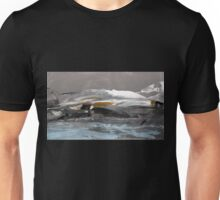 North Landscape - Original Wall Modern Abstract Art Painting Unisex T-Shirt