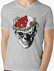 Berserk Skull Mens V-Neck T-Shirt