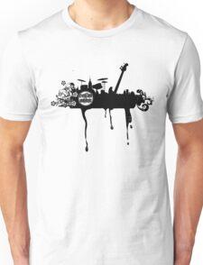 Drum & Bass City Landscape Unisex T-Shirt
