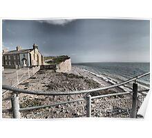 Birling Gap, East Sussex Poster