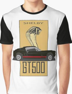 Shelby GT500 '1967 (black) Graphic T-Shirt