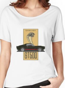 Shelby GT500 '1967 (black) Women's Relaxed Fit T-Shirt
