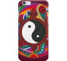 Psychedelic Turtle Yin Yang iPhone Case/Skin