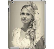 Portrait in Monochrome iPad Case/Skin