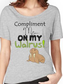 Walruses compliment everything! Women's Relaxed Fit T-Shirt