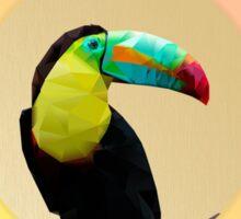 Toucan-polygonal style   Sticker