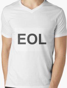 EOL End Of Life Mens V-Neck T-Shirt