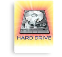 Hard Drive Canvas Print
