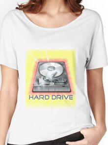 Hard Drive Women's Relaxed Fit T-Shirt