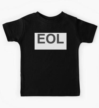 EOL End Of Life Kids Tee