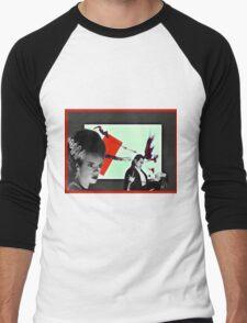 He had panache. . .  Men's Baseball ¾ T-Shirt